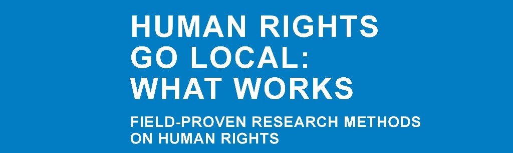 Building Bridges between Local Governments and the Scientific Community to Promote Human Rights